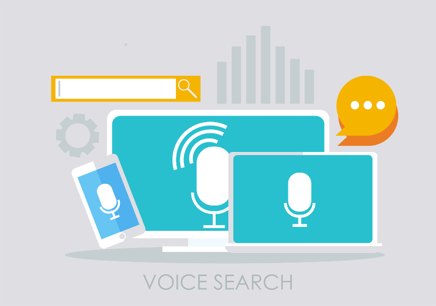 Voice search Beitragsbild