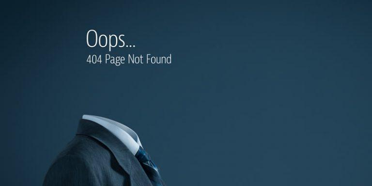 404-Fehler