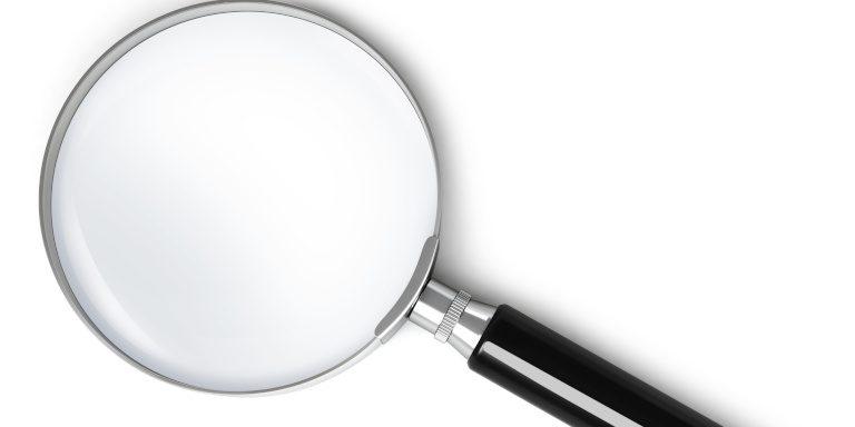 Beitragsbild Lupe –Google Search Console neue Funtion zur direkten Fehlersuche