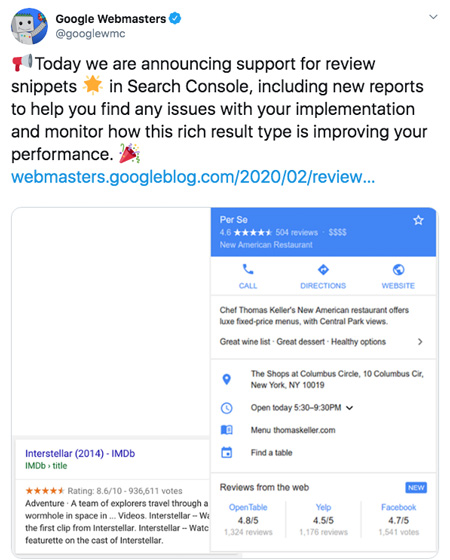 Search Console Reviews