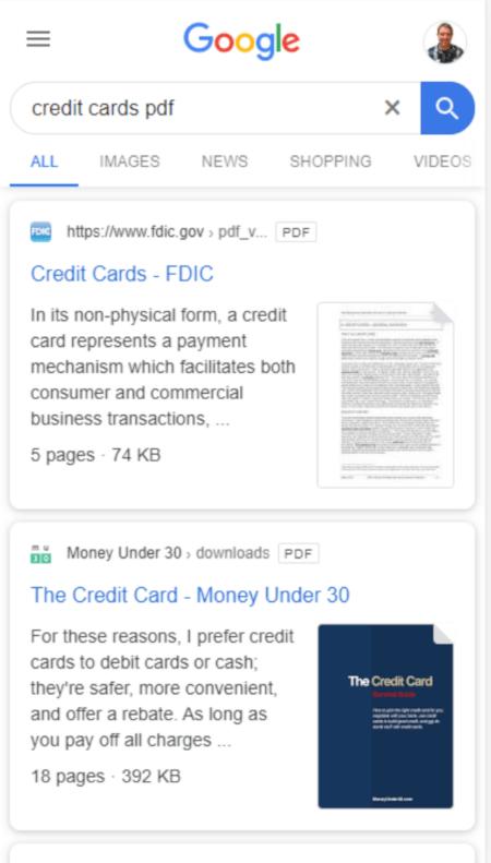 Twitter Screenshot, Thumbnail von Bilder aus PDF-Dateien werden angezeigt