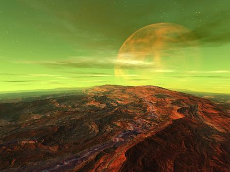 Planet Seossus - Heimat der Jedi Whedis